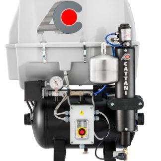 Compresor de 3 cilindros con secador de aire Cattani