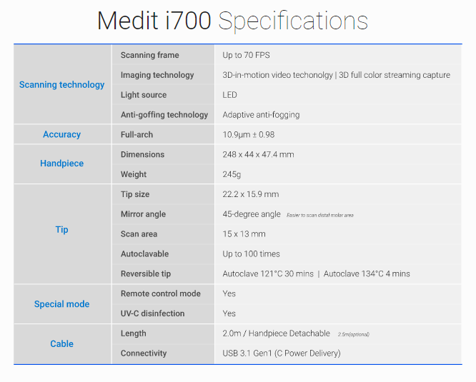 especificacion tecnica i70