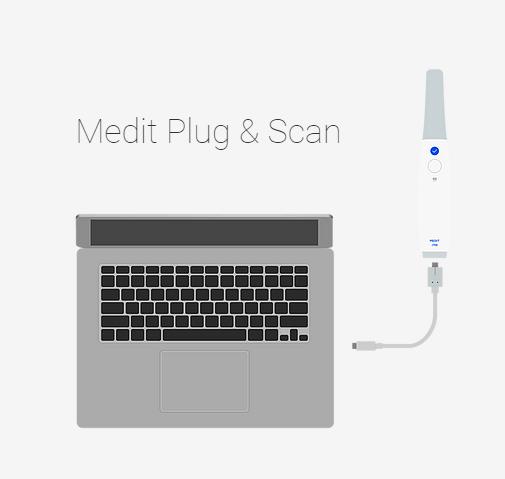 medit i700 plug & scan